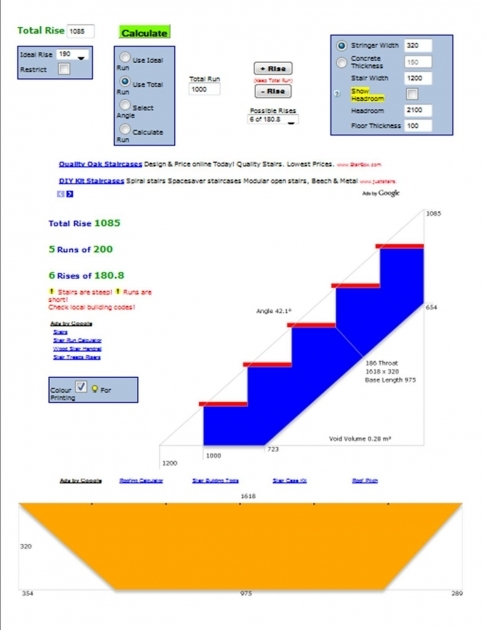 Widebeam Boat Build   Deck Stair Calculator Photo 40