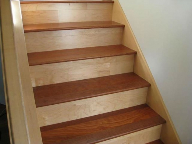 Wood Stair Tread Kit And Riser Images 47