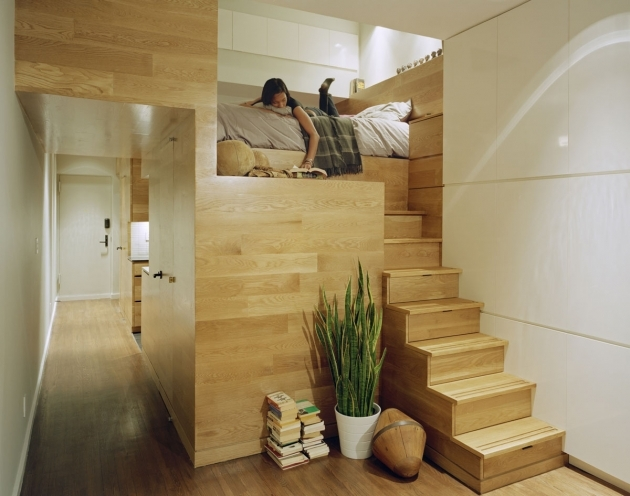 Wooden Home With Stair Design For Small Spaces Pictures 42