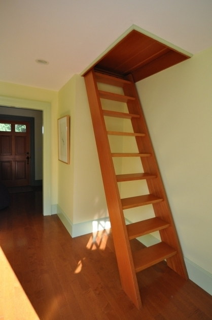 Attic Staircase Ideas Ladder Image 14