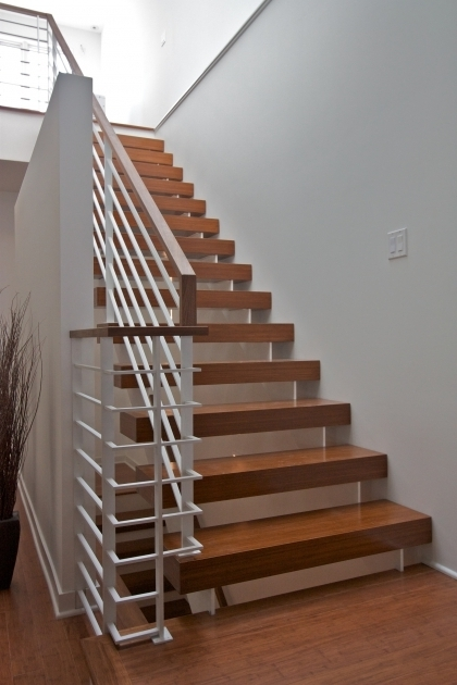 Custom Modern Stair Rails Chicago Pictures 17