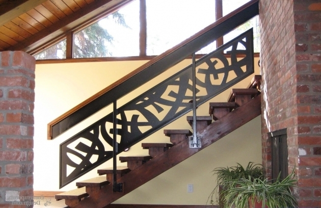 Modern Stair Rails Model And Classic Design  Photo 02