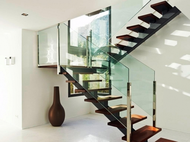 Modern Stair Rails Styles Home Pictures 14