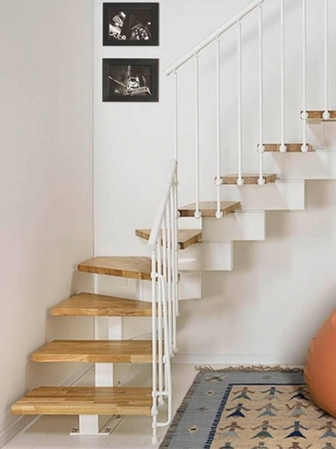 Wooden Treads Attic Staircase Ideas Picture 65