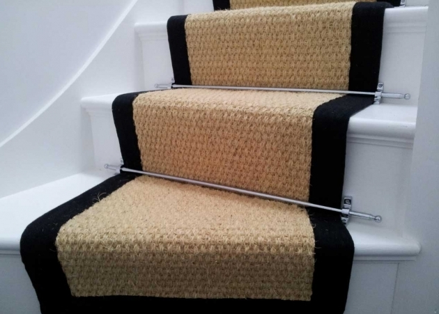 Carpet Runners For Stairs With Chrome Finish  Picture 58