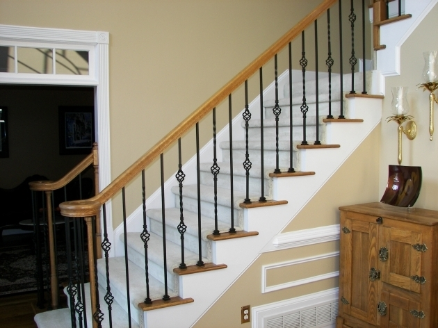 Iron Balusters Stairs Atlanta Picture 92