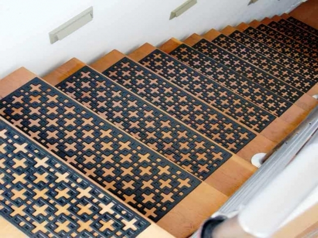 Stair Tread Covers Decor For Modern Living Room Design Ideas Photo 58