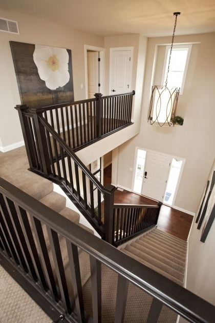 Handrails For Stairs Interior Indoor Stair Railing Ideas Images 91