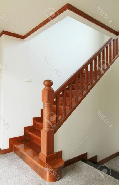 Wooden Handrails For Stairs Interior Image 53
