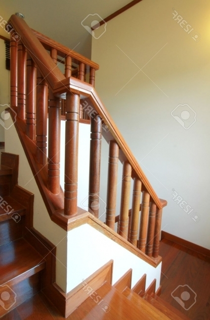 Wooden Handrails For Stairs Interior Picture 47