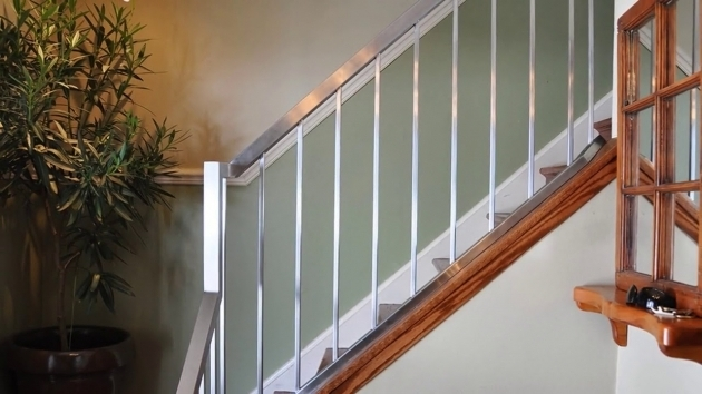 Stairs Railing Designs In Steel For Uk Concept  Photo 03