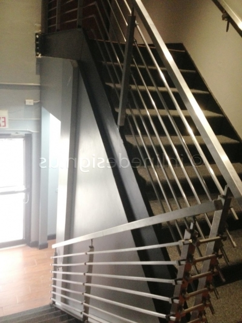 Stairs Railing Designs In Steel Home Decor Image 58