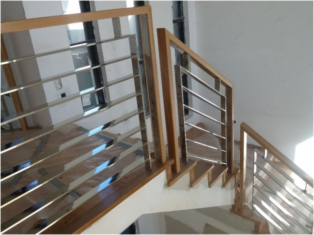 Top Wooden Stairs Railing Designs In Steel Ideas Photo 74