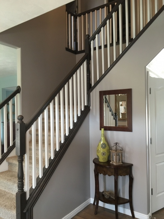 Painting Stair Railing Ideas And Staining