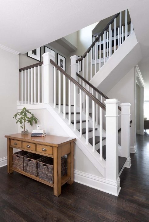 Painting Stair Railing Ideas Congress Park Whole House Refresh Classic Homeworks
