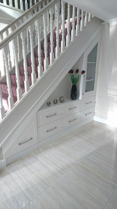Understairs Storage Systems Custom Made Storage Unit For The Foyer