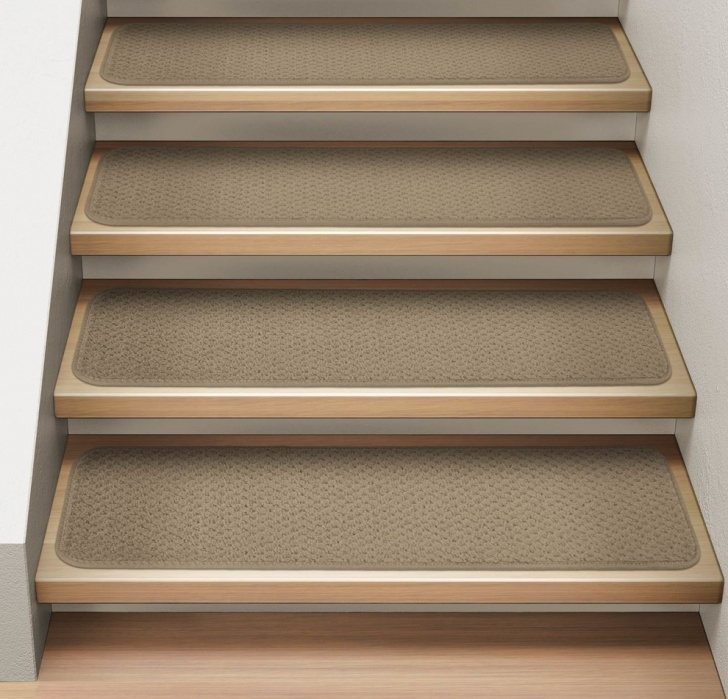 Carpet Strips For Stairs Nosing Strips For Carpet Stairs Set Of 15 Attachable Carpet Stair Treads Camel Tan, 8X23.5