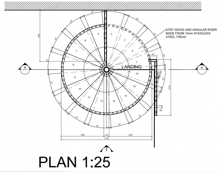 Small Spiral Staircase Sizes Small Spiral Staircases Sizes Detail Drawings Autocad Behance