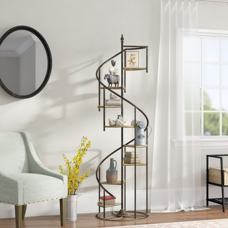 Small Spiral Staircase Sizes Small Spiral Staircases Sizes Shauna Spiral Staircase Geometric Bookcase