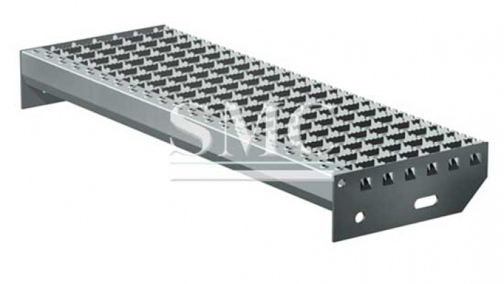 Aluminum Stair Tread Covers Steel Stair Tread - Gi Grating Stair For Manhole Cover Photo 892