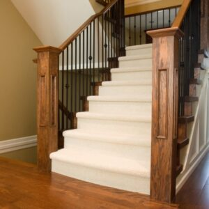 Can I Take Up And Replace Balusters On Carpet Stairs