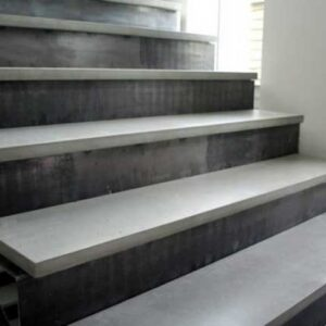 Cement Stairs And Ceramics