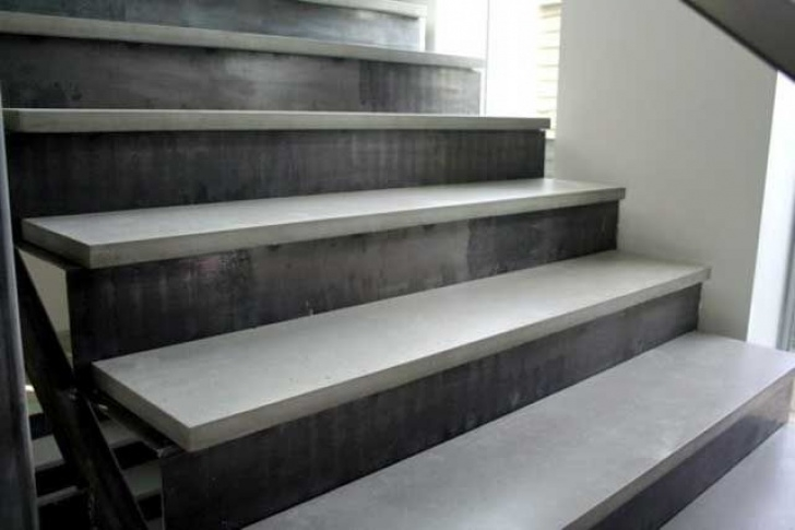 Cement Stairs And Ceramics Love These Uber-Architectural Stair Treads By Edmonton'S Picture 273