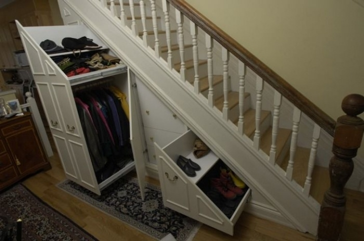 Cupboard Under The Stairs Ikea Love The Pull-Out Shoe Storage   Гардеробные, Дом, Шкаф Picture 259