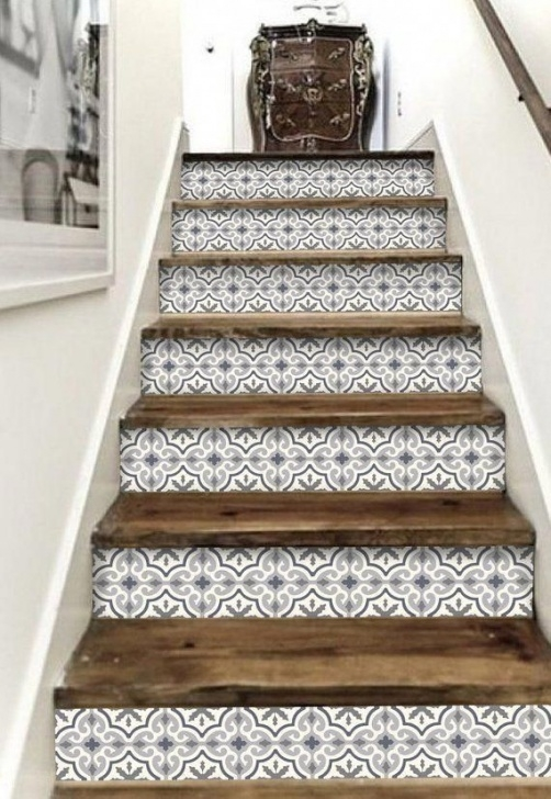 Decorative Stair Riser Covers Decorative Stair-Riser Is Hot In Latest Home Decorating Photo 008