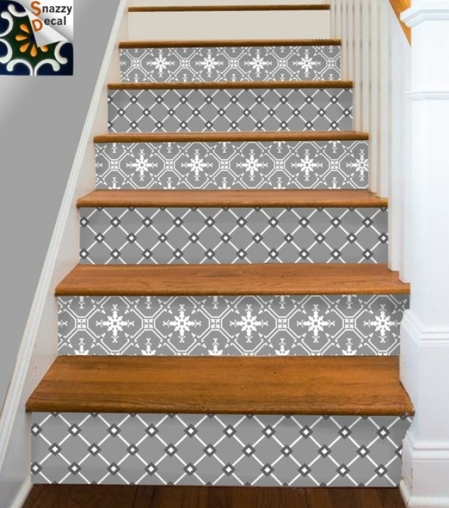 Decorative Stair Riser Covers Stair Riser Vinyl Strips Removable Sticker Peel & By Photo 474