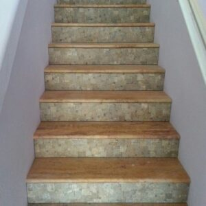 Decorative Tile For Stair Risers