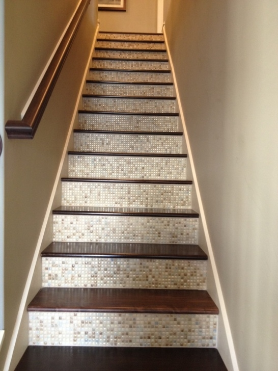 Decorative Tiles For Stair Risers I Saw This Great Feature In A Model Home. Tile On The Picture 756