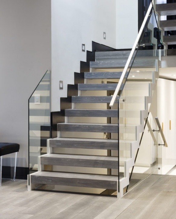 Floating Stair Brackets Mrail Modern Stairs   Floating Stairs Picture 890