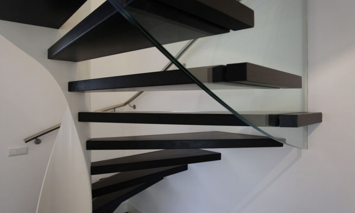 Floating Stair Wall Mounting Brackets Retractable Stairs Design, Deck Stair Tread Brackets Photo 218