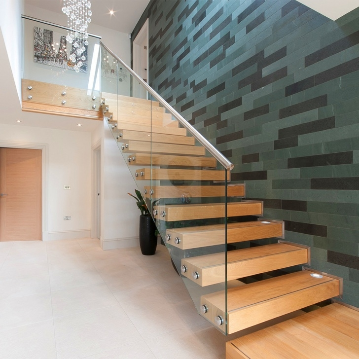 Floating Staircase Ideas China Contemporary Floating Staircase With Wood Tread Picture 971