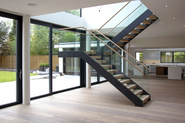 Floating Staircase Ideas Coach-House-Floating-Staircase In 2019 | House Staircase Picture 597