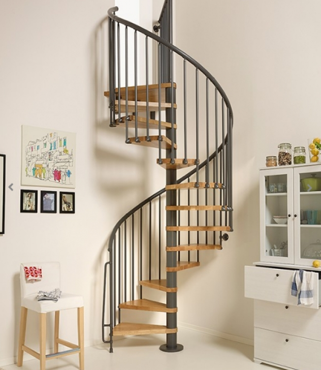 Floating Staircase Kits Oak70 Spiral Stair Kit | The Staircase People | Spiral Picture 551