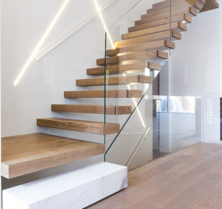 Floating Stairs Kit China Grand Staircase Floating Stairs Cable Stair Railing Picture 827