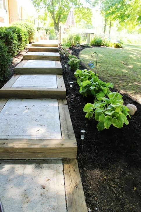 How To Build A Stair Way Into A Hill 15 Awesome Diy Garden Steps And Stairs Image 415