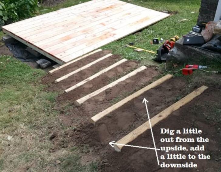 How To Build A Stair Way Into A Hill Build Your Own Floating Deck | Step-By-Step Guide To A Image 177
