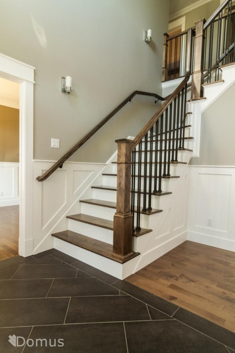How To Change Stairway Spindles Staircase With White Accents And Black Metal Spindles Picture 262