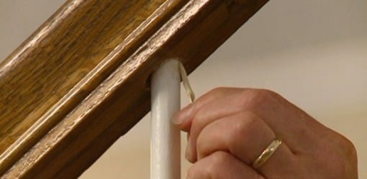 How To Replace A Spindle On A Staircase How To Repair A Loose Staircase Baluster Spindle   Today'S Picture 340