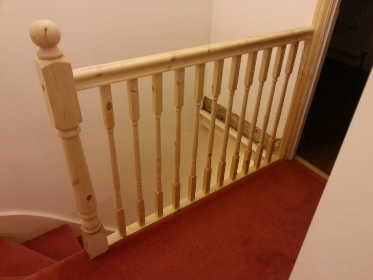 How To Replace Stair Spindle How To Replace Banister, Newel Post Handrail And Spindles Image 883