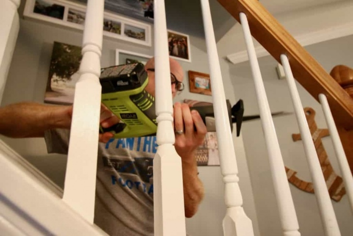 How To Replace Stair Spindle How To Replace Wooden Balusters With Iron The Easy And Photo 281