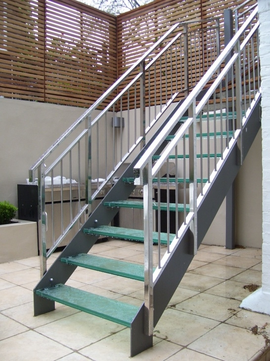 Internal Steel Staircase Outside Metal Staircase - Http://Www.potracksmart Image 038