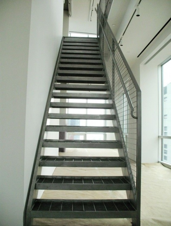 Internal Steel Staircase Steel Grate Treads (With Images) | Staircase Design Picture 584