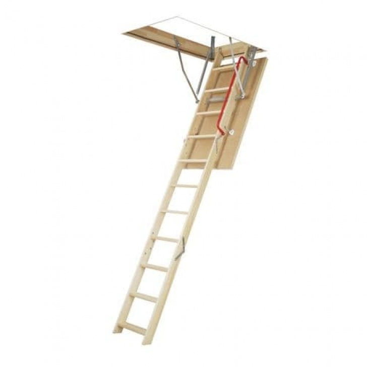 Lowes Attic Stairs Fakro 7.92-Ft To 10.67-Ft. (Rough Opening: 22.5-In X 54-In Picture 618