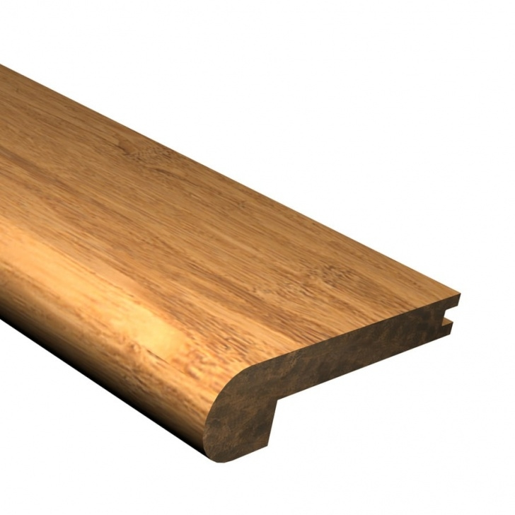 Lowes Stair Nose Laminate Cali Bamboo 2.875-In X 72-In Mocha Bamboo Stair Nose Floor Picture 240