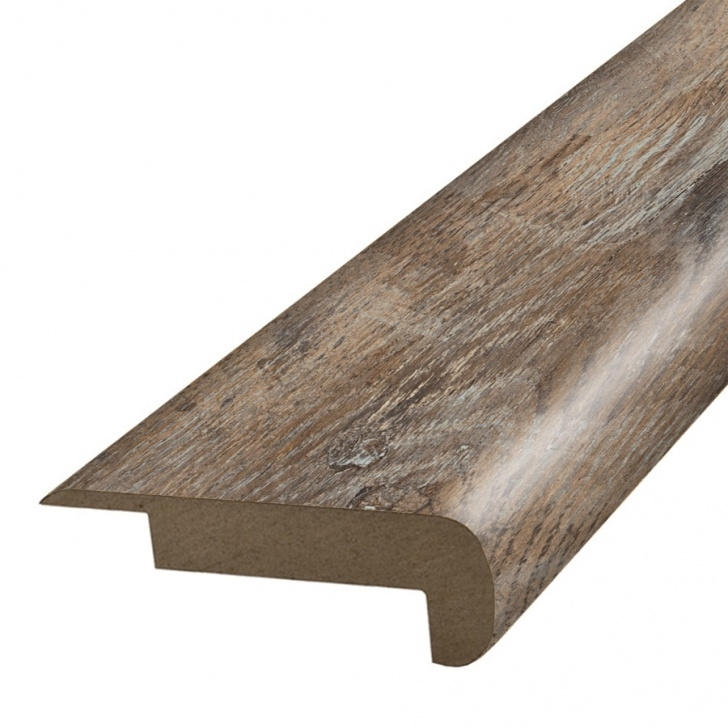 Lowes Stair Nose Laminate Simplesolutions 2.37-In X 78.7-In Spalted Woodbark Stair Picture 692