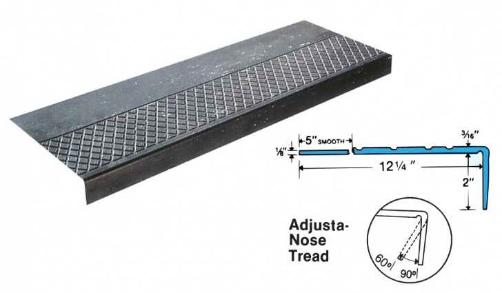 Metal Stair Tread Covers Hy-T Plus   Musson Rubber Photo 555